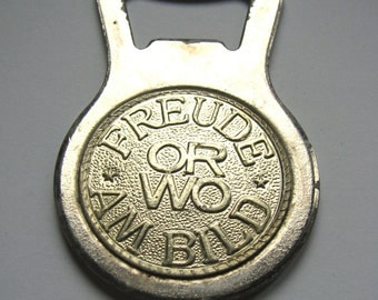 Vintage BOTTLE OPENER German 1950s 1960s ORWO filmfabrik  ddr