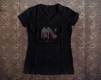 OES Order of Eastern Star Rhinestone T-Shirt