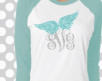 angel wings svg, wings svg, boho svg, remembrance svg, wings cut files, heaven svg, monogram svg, angel svg, gypsy, in memory of, memory svg