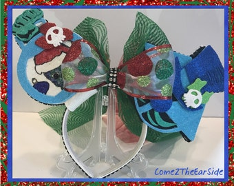 Christmas Hatbox Ghost Haunted Mansion Christmas Mickey Ear Christmas Minnie Ear Boy Girl Mouse Ears