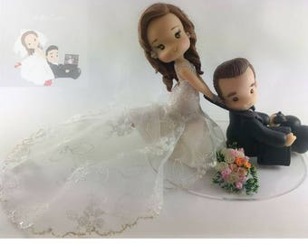 xbox wedding cake topper, cake topper for wedding, xbox topper