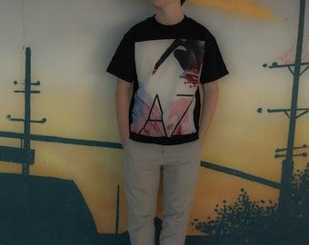 Skateboard shirt AZ skate ripped shirt