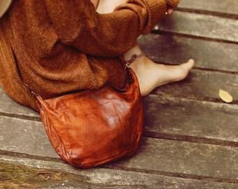 Gusti leather 'Anna' Shoulder Handbag vintage