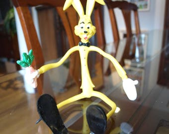 Bendable Easter Bunny Rabbit Toy by Easter Unlimited – Excellent