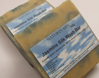 Jasmine Silk Wash Bar