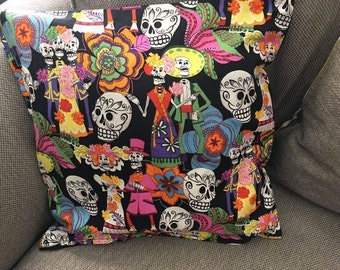 Dia de Los Muertos/ Day of the Dead Pillow