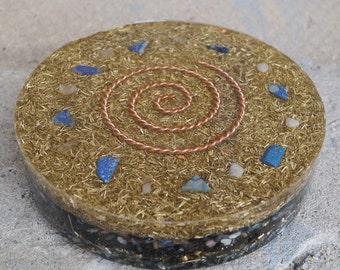 Orgonite Orgone Orgon plate Cheops Orgonite plate 2, 25kg - Royal cubit - coil worldwide free shipping