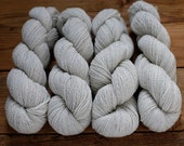 Organic Natural 2 ply sport yarn from Montana - Powder Horn