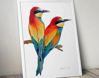 Birds - PRINT (A4 size)