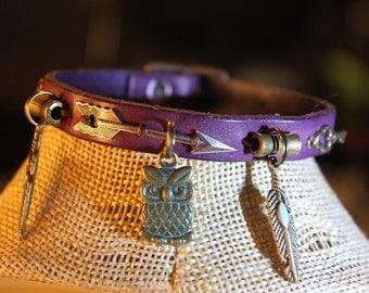 ethnic bracelet and OWL