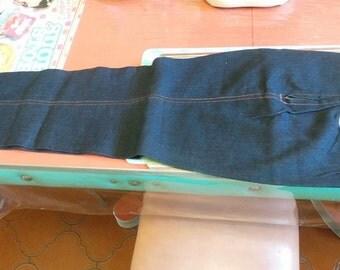 Genuine Blue jeans 1950 s. registered design mark escarguel.