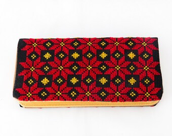 Ladies Purse with Palestinian Embroidery - Medium