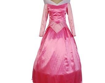 Sleeping Beauty 1959 Princess Aurora Dress Aurora Cosplay Costumes
