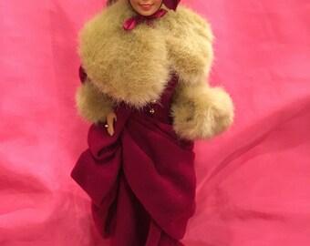 Vintage 1994 |Hallmark| Victorian Elegance Holiday Barbie