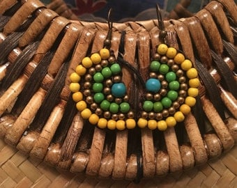 Mexican inspired Retro Rockabilly earrings