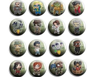 Fallout 4  Companion badge set