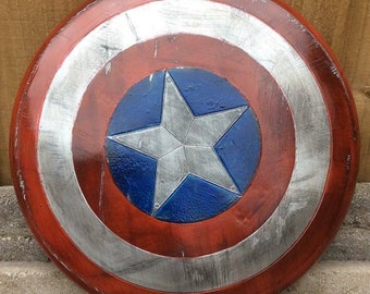 Small Captain America's Shield.