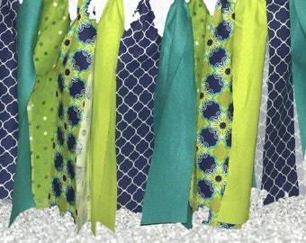 Unique Lime Green Navy Blue Related Items Etsy