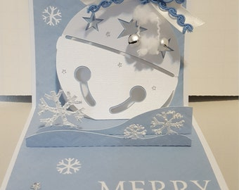 Christmas Ornament Pop-up Card