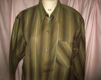 A vintage shirt for men, hunting, country, work