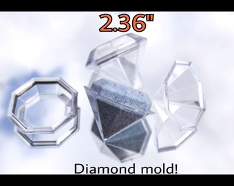 Diamond bath bomb mold !