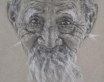 Limited Edition Print, 'Portrait #23'