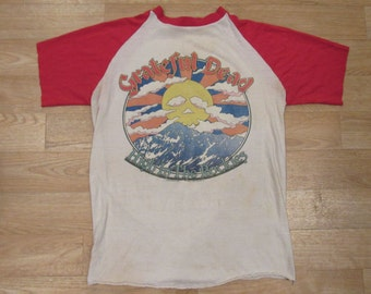 Grateful Dead Colorado 1980 Tour Shirt High In the Rockies