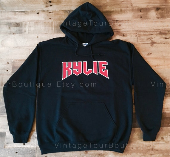 the kylie script hoodie from the kylie jenner shop kylie. Black Bedroom Furniture Sets. Home Design Ideas