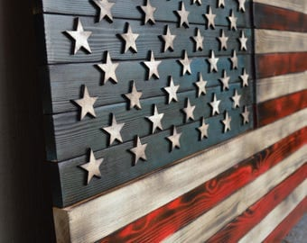 Rustic American Flag, Red white and blue flag, wooden flag, wooden american flag, rustic flag, Red white and blue rustic, USA, USA flag