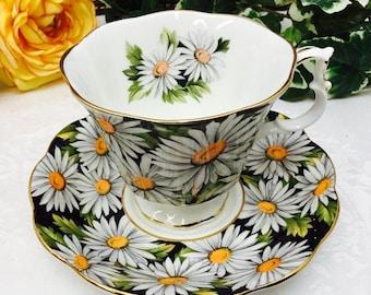 """Royal Albert """"Sylvia"""" teacup and saucer."""