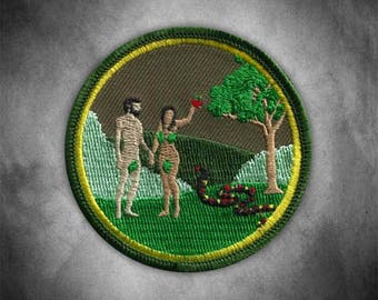 Adam and Eve Patch