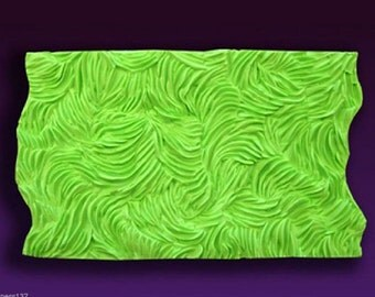 Carpet texture Silicone long FUR for sugar paste & Almond Cake