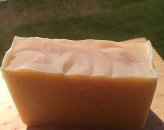 All Natural Lavender & Rosemary Soap made with organic oils and butters