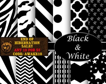 num rique papier peint motifs blanc papier et chevron noir. Black Bedroom Furniture Sets. Home Design Ideas
