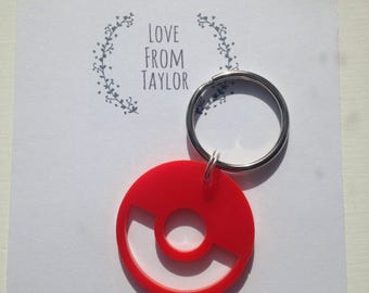 SALE, reduced to clear, pokemon keyring, pokemon gift, gift for him, gaming gift, geek, nerd, geeky gift, aternative gift, gift for dad