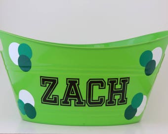 Easter basket, Easter Bucket, Personalized Easter bucket, Personalized Easter Basket