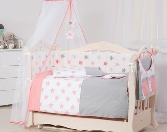 Comfortable baby bedding set.