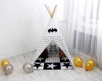 Kids Teepee, Childrens Teepee, Teepee, Playtent, Playhouse, Tipi, Kids Tent, Play Teepee, Wigwam, Tee Pee, Tent, Tipis, Teepee Tent for Kids