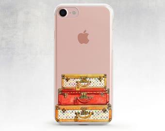 Louis Vuitton phone case clear iPhone 7 Plus case Louis Vuitton bags iPhone 7 case clear case iphone 6s plus case Chanel iPhone 6 clear case