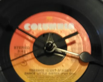 Terrance Trent D'Arby 45 Record Clock - Dance Little Sister