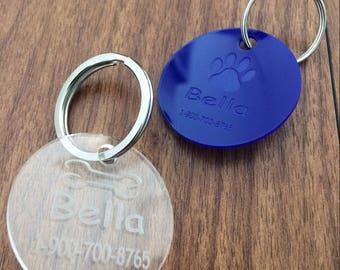 Dog tag,Dog id tag, Personalized engraved custom engraving  dog tag name tag laser cutting