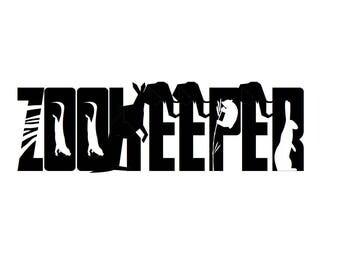 Zookeeper Vinyl Decal