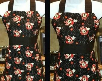 Children's Apron Minnie Mouse Pattern