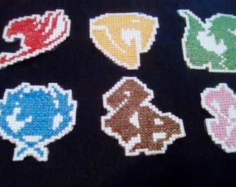 Fairy Tail Guild Patches