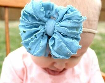 Ruffle Mini Ice Blue