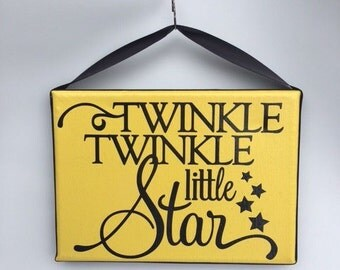 Twinkle Twinkle Little Star Sign