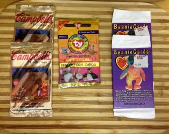 Trading Cards Beanie Baby and Campbell's