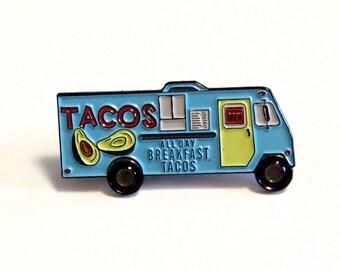 Taco Truck, the enamel pin
