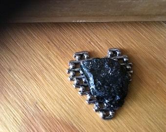 Lattice work Heart with Pa Coal
