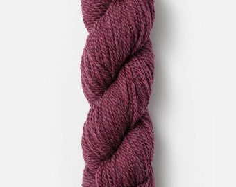 Woolstok in Pressed Grapes - Blue Sky Fibers 100% Fine Highland Wool yarn